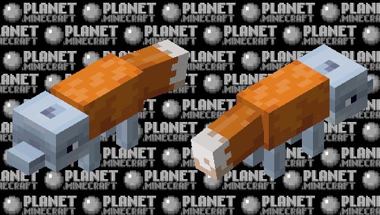 Dolphin Fox Minecraft Skin