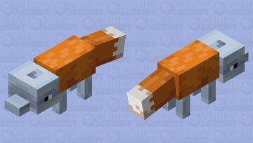Fox Dolphin Minecraft Mob Skin