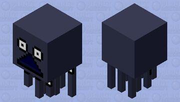 Moomin The Groke Ghast Minecraft Mob Skin