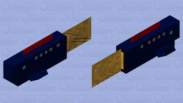 A Homing Missile Cod Minecraft Mob Skin