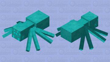 Cold Spider (Winter Mobs) Minecraft Mob Skin