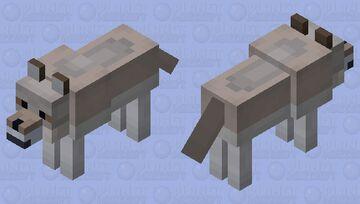Wolf Minecraft Mob Skin