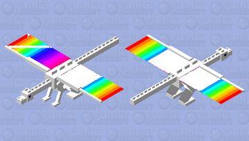 LGBTQ Dragon Minecraft Mob Skin