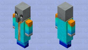 Rainbow Mage Minecraft Mob Skin