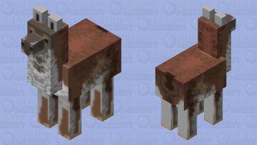 wanaku (guanaco) Minecraft Mob Skin