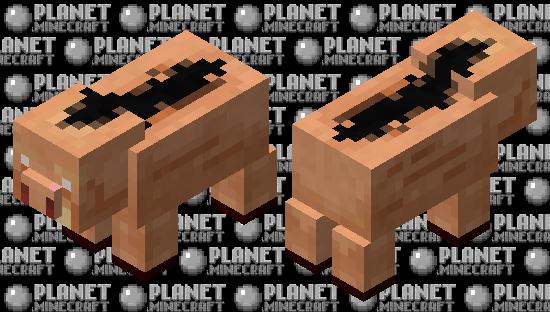 hoglin fur piglin pig (request) Minecraft Skin