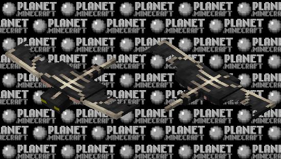 Black Phantom Minecraft Skin
