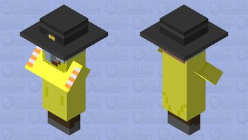 Protective Villager Minecraft Mob Skin