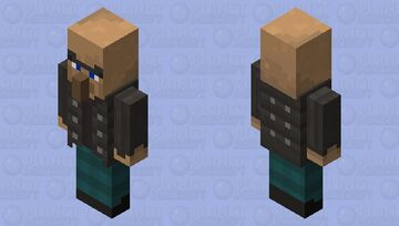 Possessed villager with lapis Minecraft Mob Skin