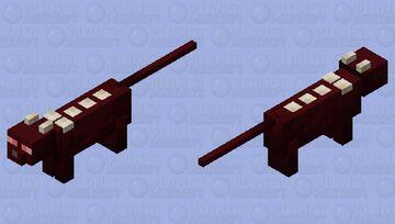 Demon Cat Minecraft Mob Skin
