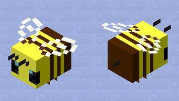 Simple CUTE bee!!!!!!!!!!! Minecraft Mob Skin