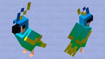 Sea Parrot Minecraft Mob Skin