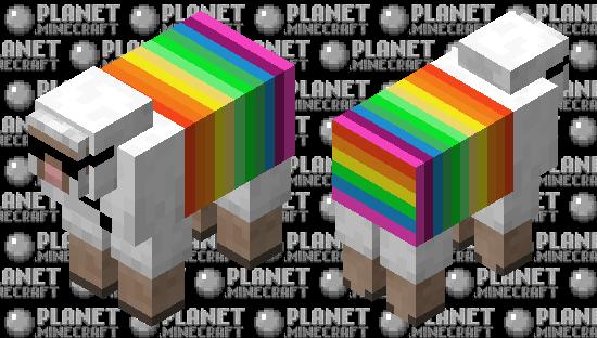 Rainbow sheep skin Minecraft Skin