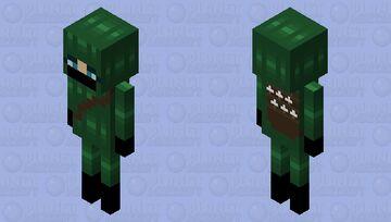Hooded Archer (Skeleton) Minecraft Mob Skin