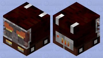 melted pillager car Minecraft Mob Skin