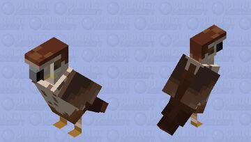 Senu from Assassin's creed Origins Minecraft Mob Skin