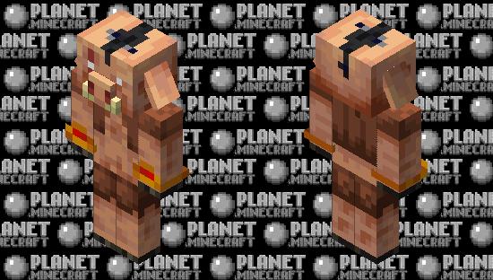 Piglin chief Minecraft Skin