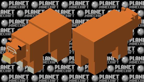 Teddiursa Minecraft Skin