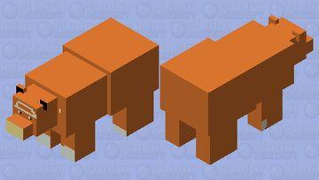 Teddiursa Minecraft Mob Skin
