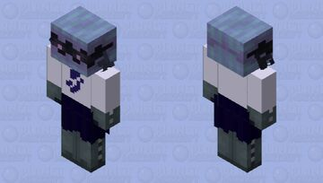 A Japanese clam sailor ~ ce Minecraft Mob Skin