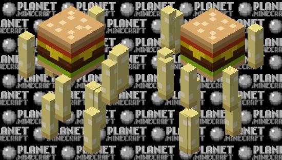 börger Minecraft Skin