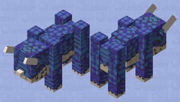 [Retro Dino] Ravasaurus Minecraft Mob Skin