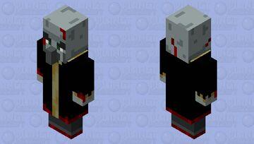 Battle Damage Evoker Minecraft Mob Skin