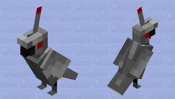 Birds Aren't Real Minecraft Mob Skin