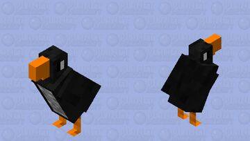 Pinguin or Puffin? Minecraft Mob Skin