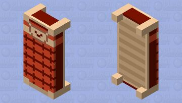 Undertale Bed Minecraft Mob Skin