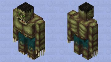 Frankenstein's monster Minecraft Mob Skin