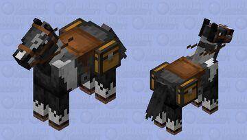 Bonnie horse retexture Minecraft Mob Skin