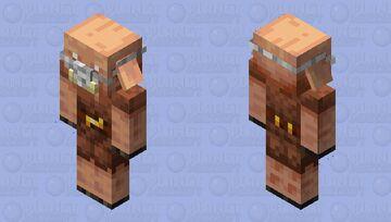 Corona mask-piglin Minecraft Mob Skin