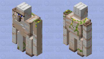 A golem I think 🤔 Minecraft Mob Skin