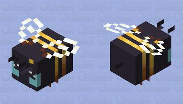 Bumble bee Minecraft Mob Skin
