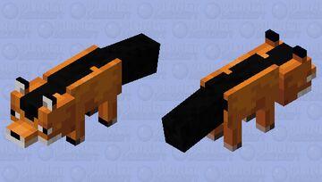 A random jackal Minecraft Mob Skin