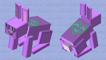 UwU B u n n y ~ gift for c a r r o t Minecraft Mob Skin