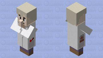 Professor Oak (Pokemon) Minecraft Mob Skin