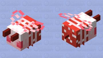 be e (with pollen!) Minecraft Mob Skin