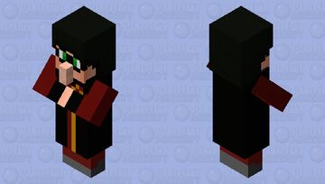 Harry Potter And His Big Nose Minecraft Mob Skin