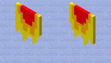 fire cape Minecraft Mob Skin