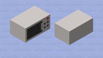 Microwave Pig Minecraft Mob Skin