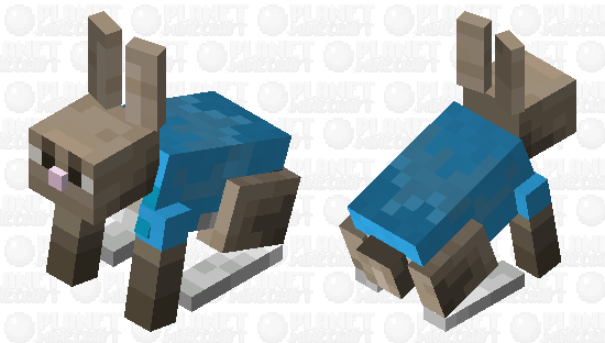 Peter Rabbit Minecraft Skin