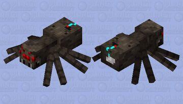 Spiderp Minecraft Mob Skin