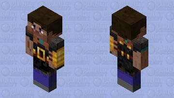 Stevelin brute (piglin bedrock) Minecraft Mob Skin
