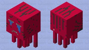 Redboi 2 Minecraft Mob Skin