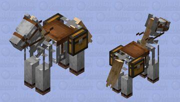 Skeleton Horse Minecraft Mob Skin