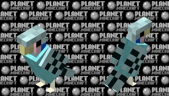 Little Blue Parakeet Minecraft Skin