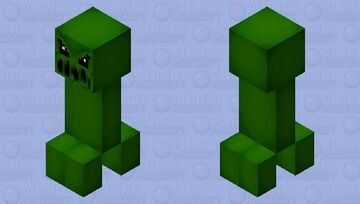 Creepers comes out to play... (gift for Ash) Minecraft Mob Skin