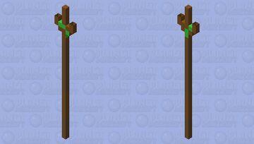 Mossy branch Minecraft Mob Skin